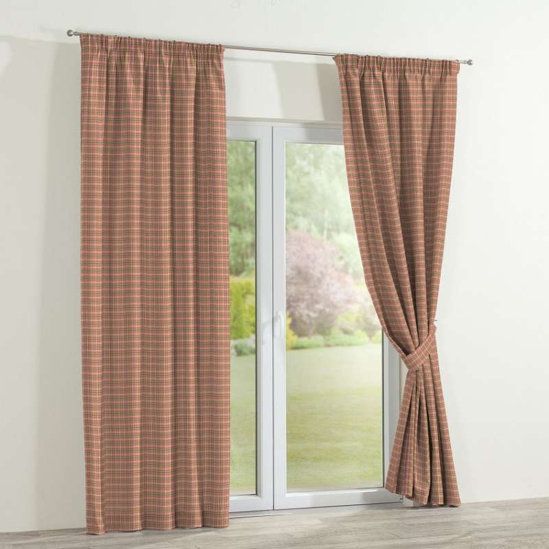Pencil pleat curtains in collection Bristol, fabric: 126-25