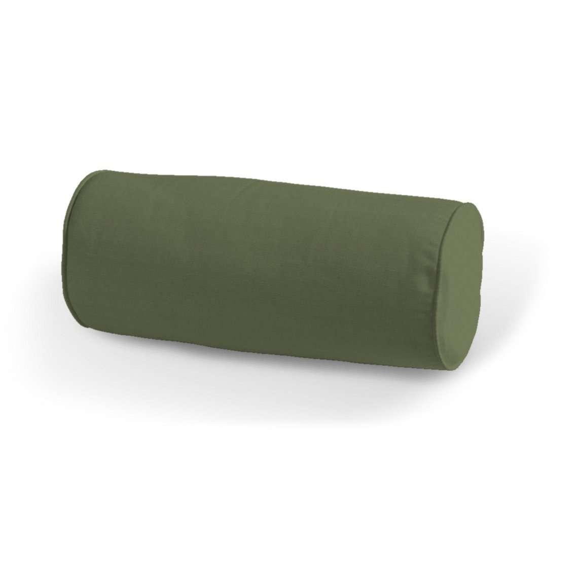 Einfache Nackenrolle, grün, Ø 16 × 40 cm, Jupiter | Schlafzimmer > Kopfkissen | Dekoria