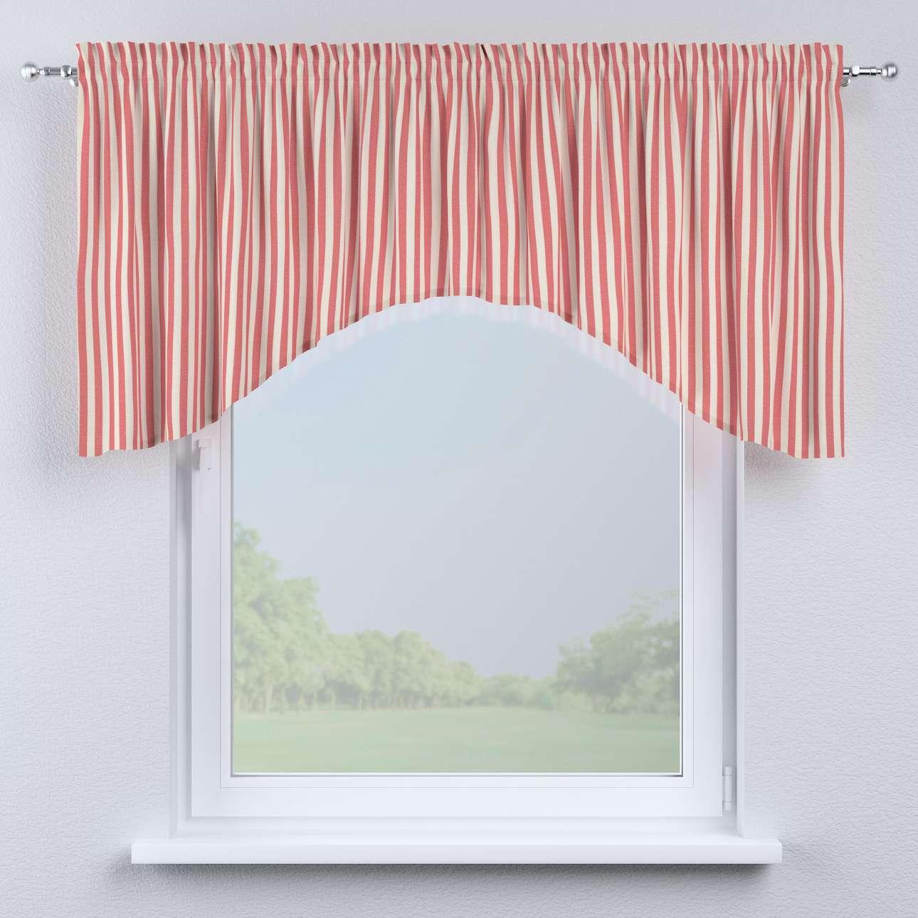 Buet gardinkappe fra kolleksjonen Quadro, Stoffets bredde: 136-17