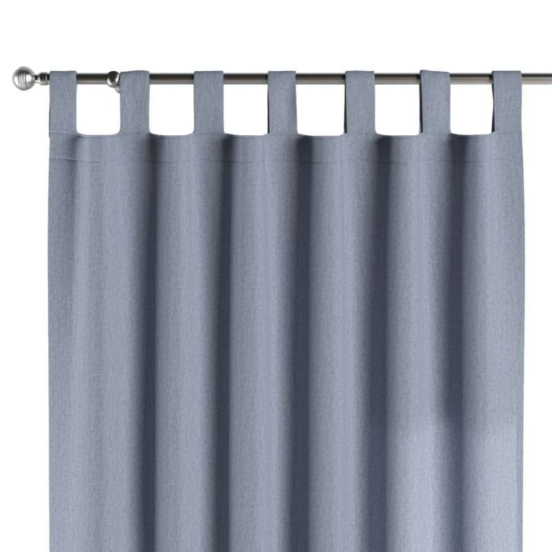 Gardin med stropper 1 stk. fra kollektionen Chenille, Stof: 702-13