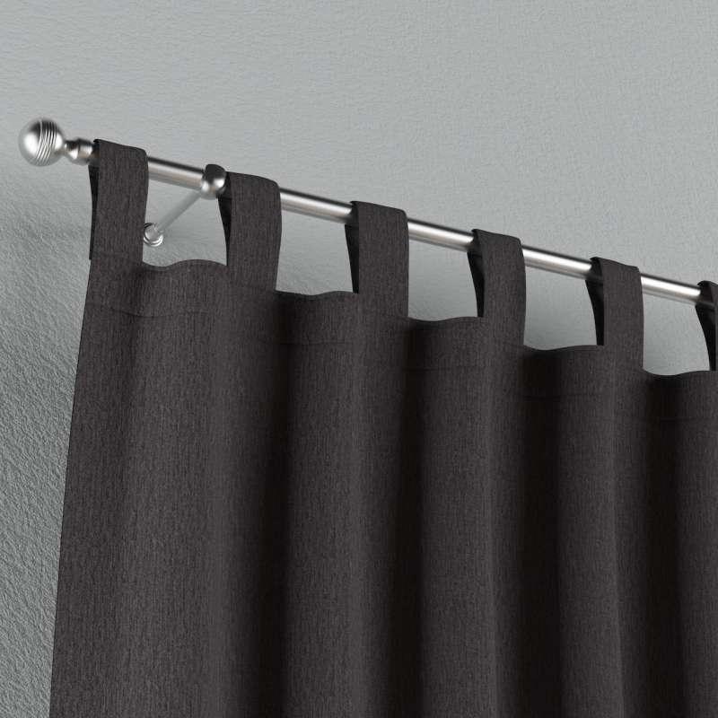 Gardin med stropper 1 stk. fra kollektionen Chenille, Stof: 702-20