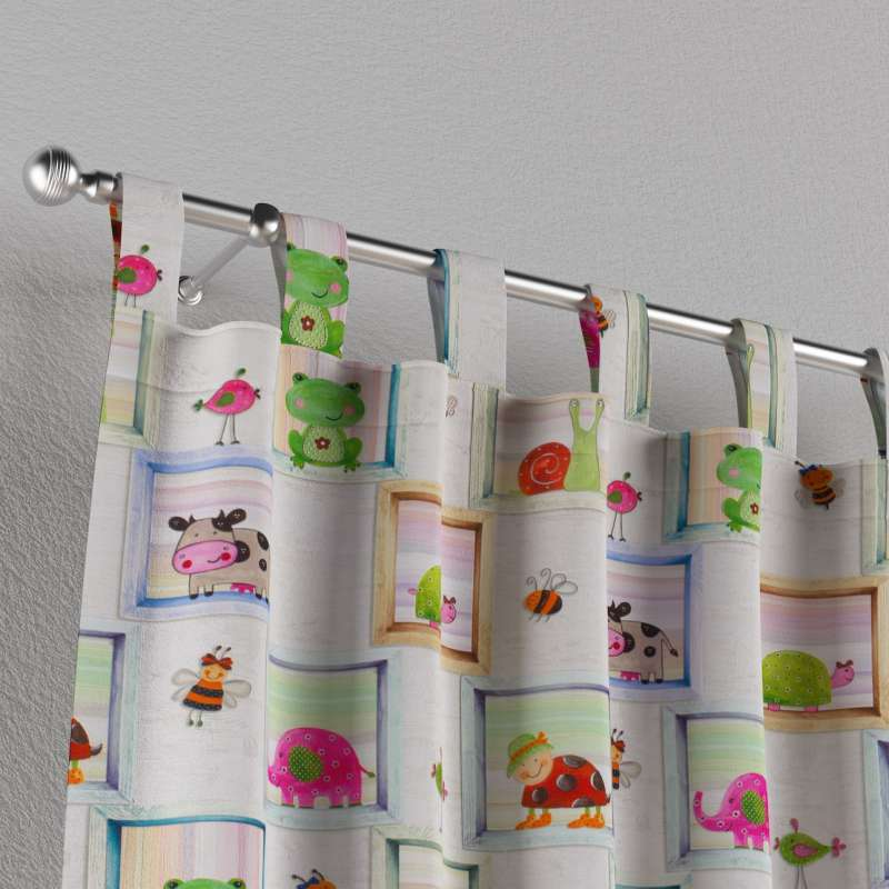 Záves na pútkach V kolekcii Little World, tkanina: 151-04