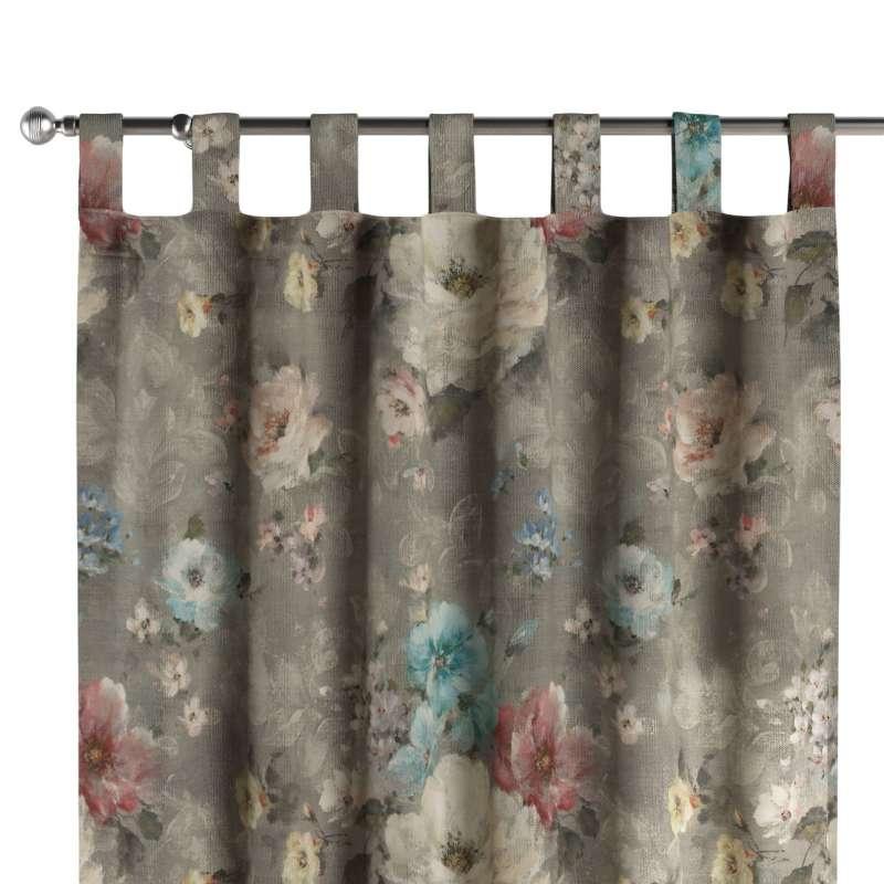 Záves na pútkach V kolekcii Monet, tkanina: 137-81