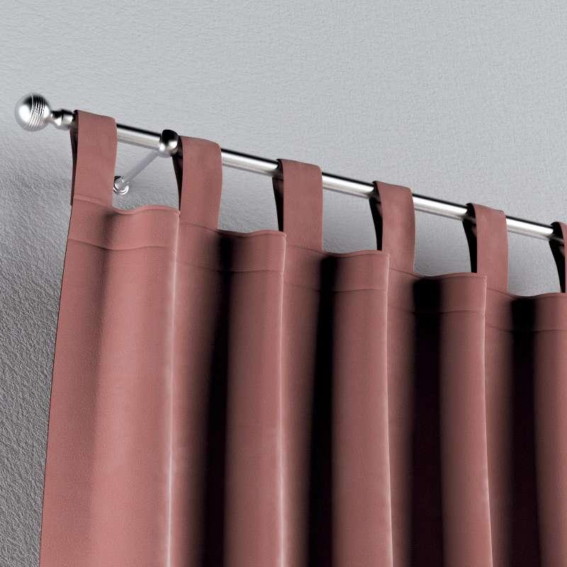 Gardin med stropper 1 stk. fra kolleksjonen Velvet, Stoffets bredde: 704-30