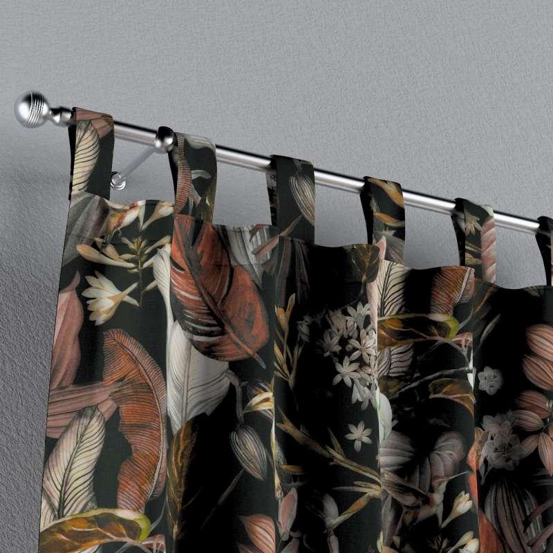 Záves na pútkach V kolekcii Abigail, tkanina: 143-10