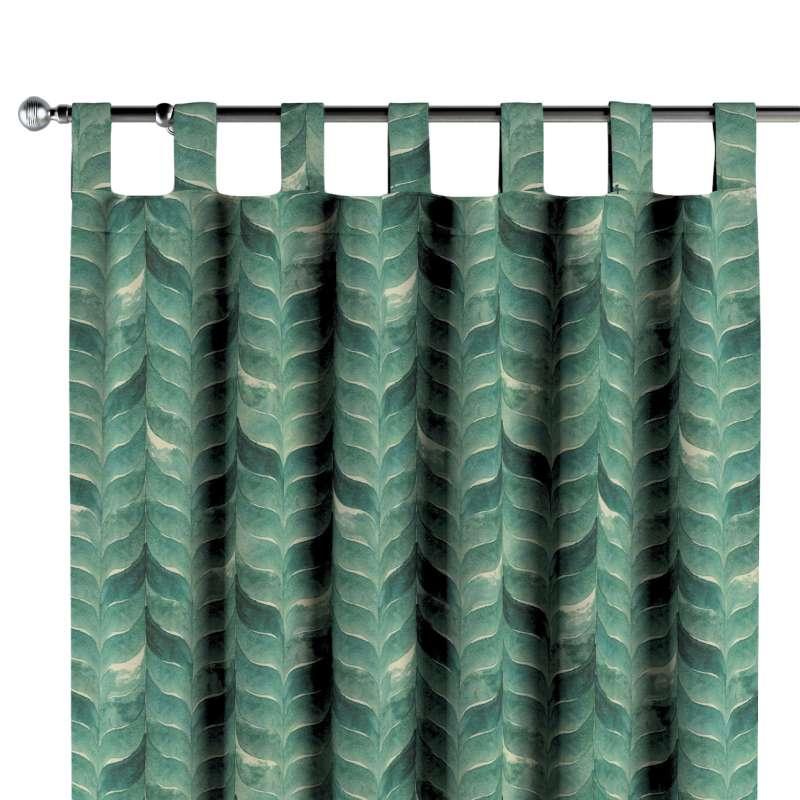 Záves na pútkach V kolekcii Abigail, tkanina: 143-16