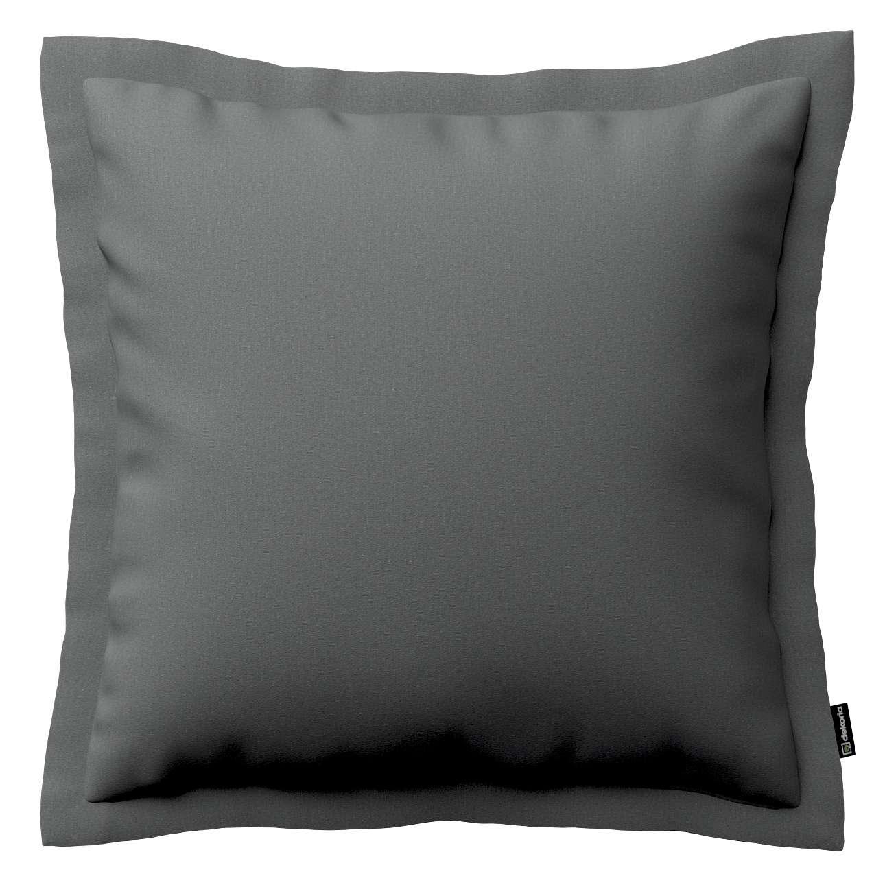 Mona - potah na polštář hladký lem po obvodu v kolekci Quadro, látka: 136-14