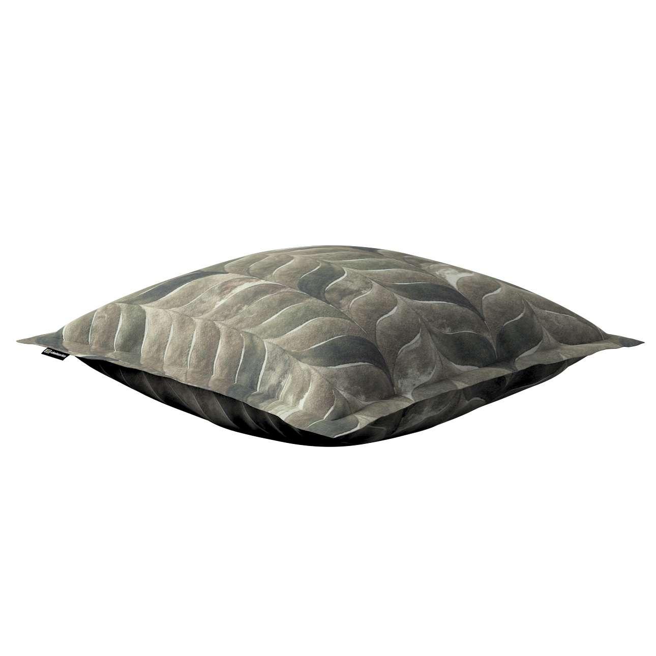 Mona - potah na polštář hladký lem po obvodu v kolekci Abigail, látka: 143-12