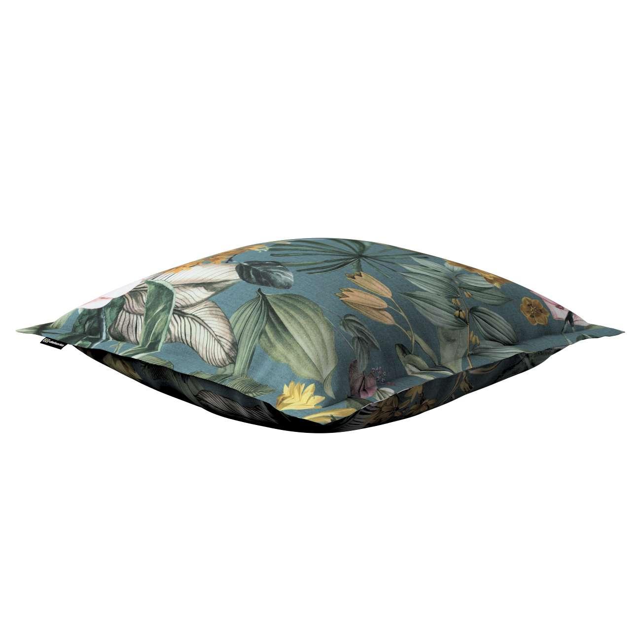 Mona - potah na polštář hladký lem po obvodu v kolekci Abigail, látka: 143-24