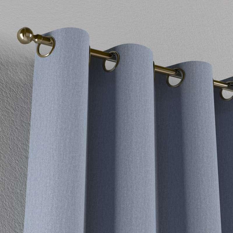 Záves s kolieskami V kolekcii Chenille, tkanina: 702-13
