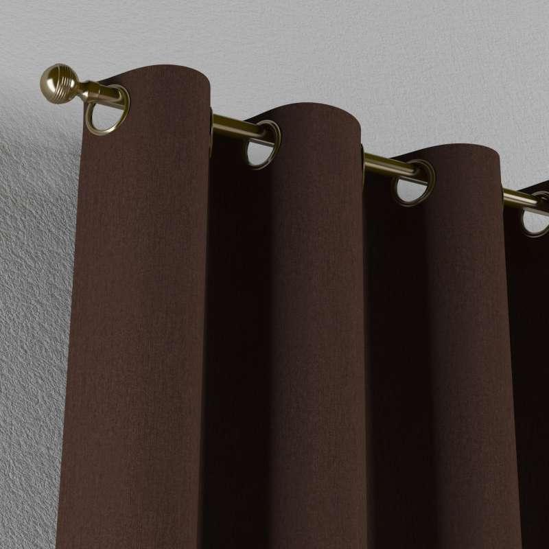 Zasłona na kółkach 1 szt. w kolekcji Chenille, tkanina: 702-18