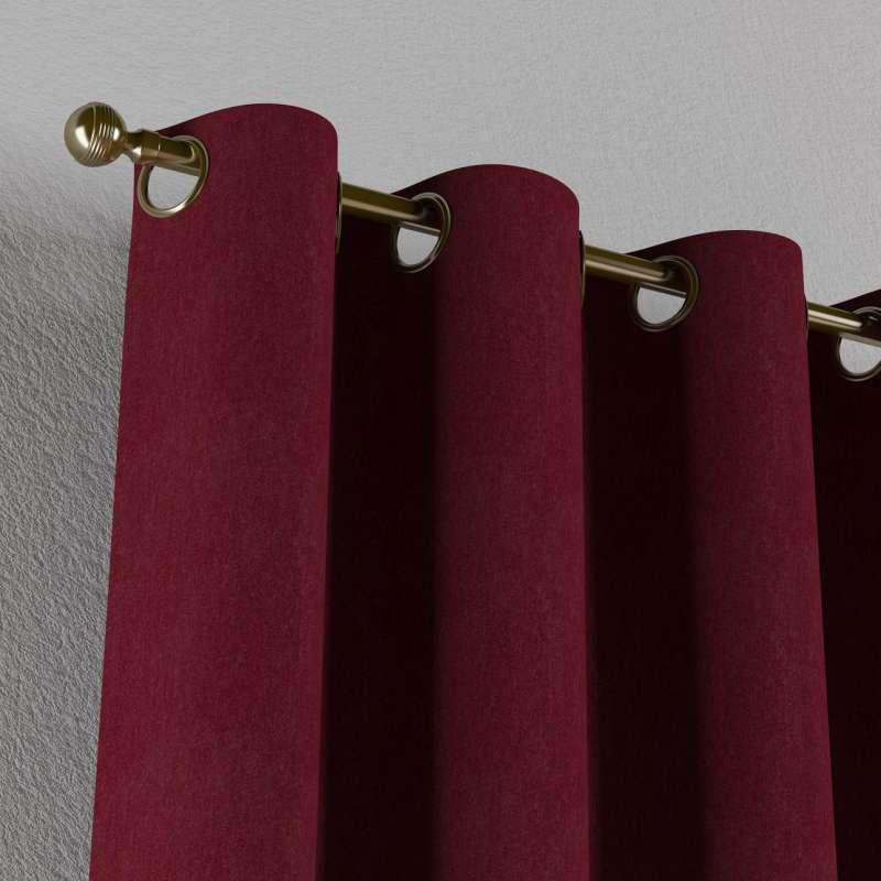 Gardin med øskner 1 stk. fra kollektionen Chenille, Stof: 702-19
