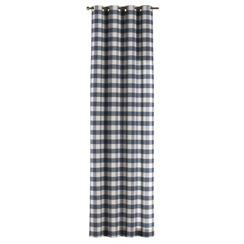 Záves s kolieskami V kolekcii Quadro, tkanina: 136-03