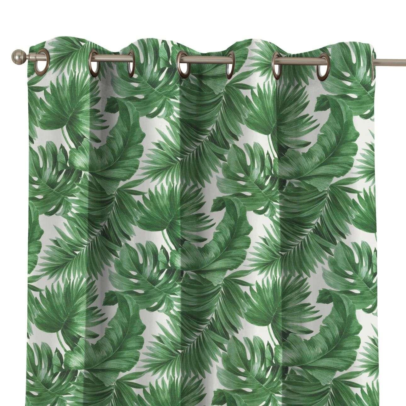 Zasłona na kółkach 1 szt. w kolekcji Tropical Island, tkanina: 141-71