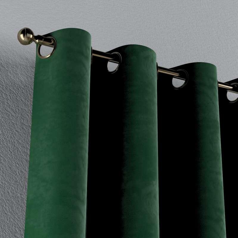 Ösenschal von der Kollektion Velvet, Stoff: 704-13