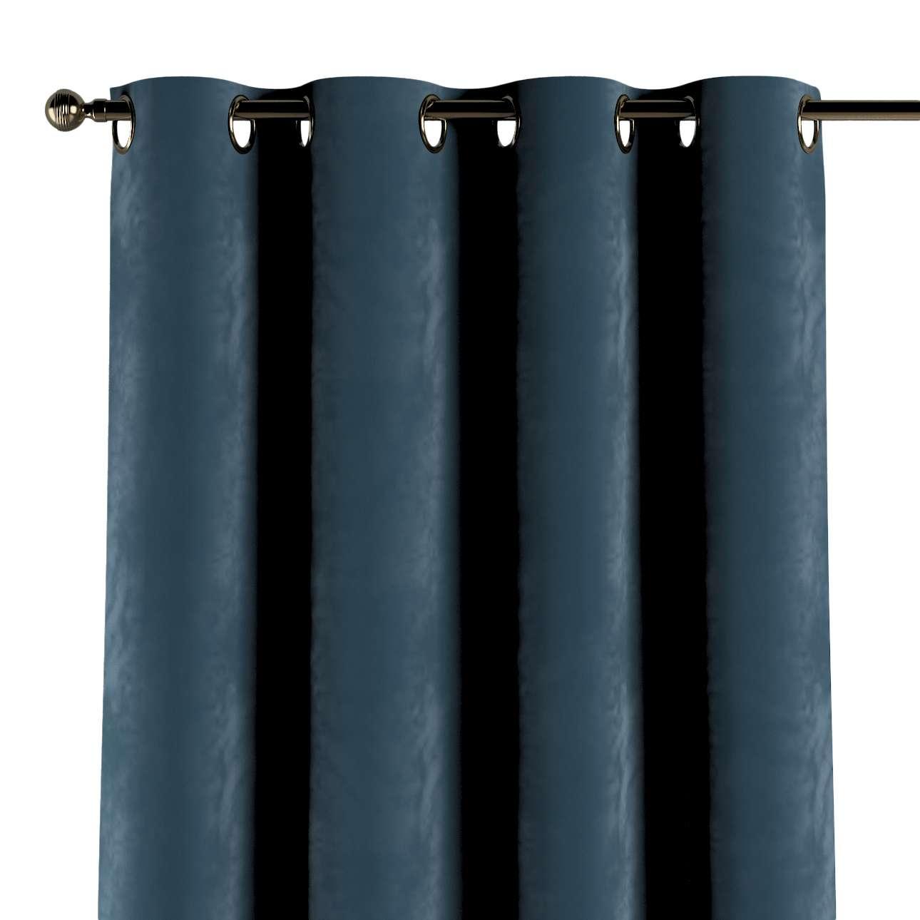 Velvet, blau