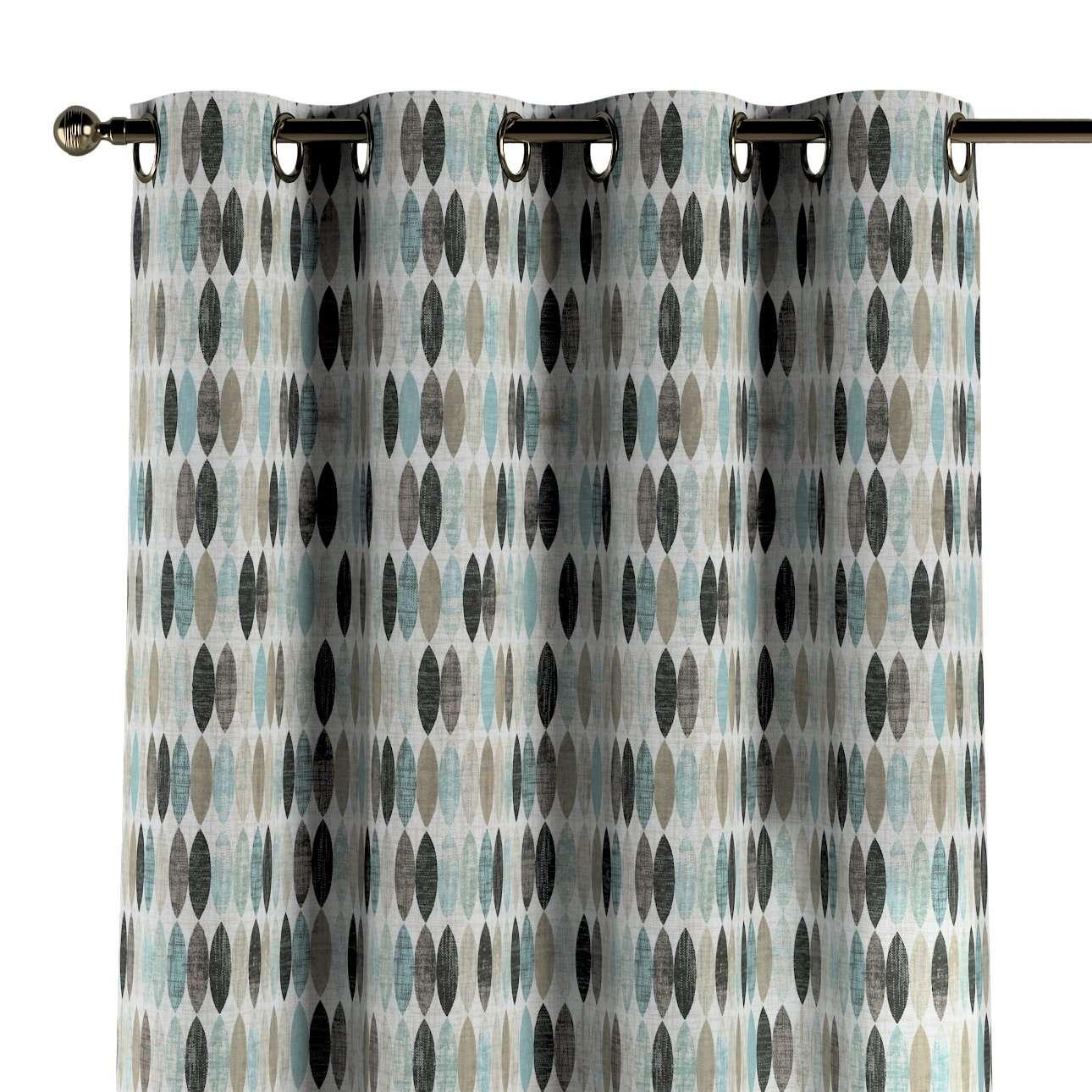 Gardin med maljer 1 stk. fra kolleksjonen Modern, Stoffets bredde: 141-91