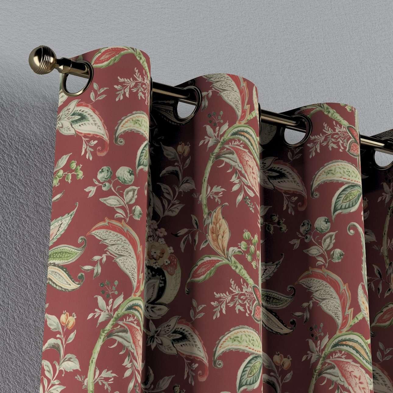 Gardin med maljer 1 stk. fra kolleksjonen Gardenia, Stoffets bredde: 142-12