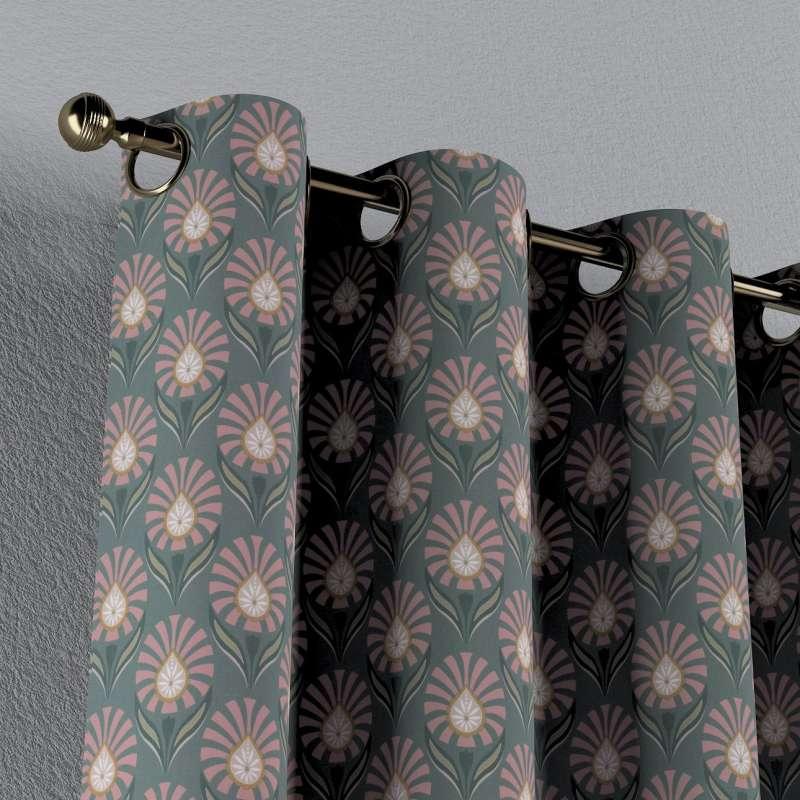Gardin med øskner 1 stk. fra kollektionen Gardenia, Stof: 142-17