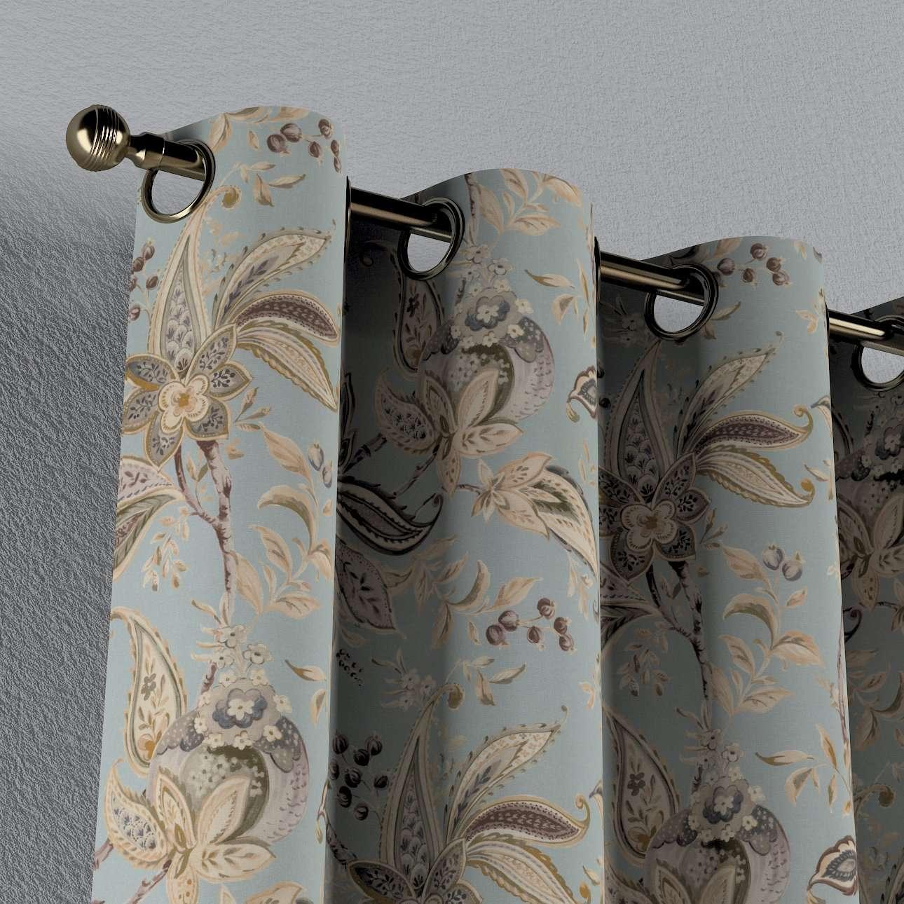 Gardin med maljer 1 stk. fra kolleksjonen Gardenia, Stoffets bredde: 142-18