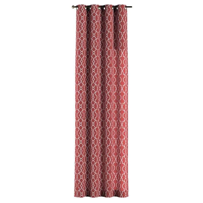 Zasłona na kółkach 1 szt. w kolekcji Gardenia, tkanina: 142-21