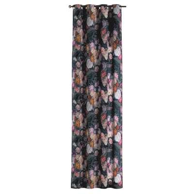 Gardin med öljetter 1 längd i kollektionen Gardenia, Tyg: 161-02