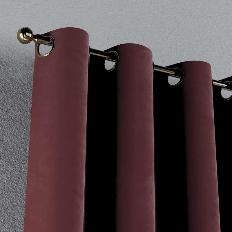 Záves s kolieskami V kolekcii Velvet, tkanina: 704-26