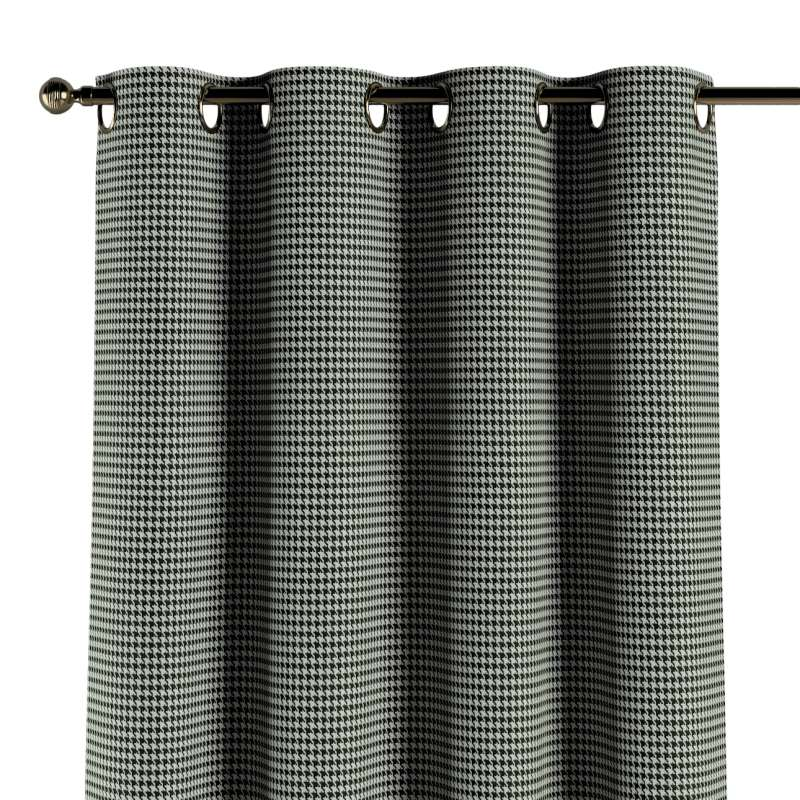 Zasłona na kółkach 1 szt. w kolekcji Black & White, tkanina: 142-77