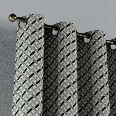 Verho purjerenkailla mallistosta Black & White, Kangas: 142-78