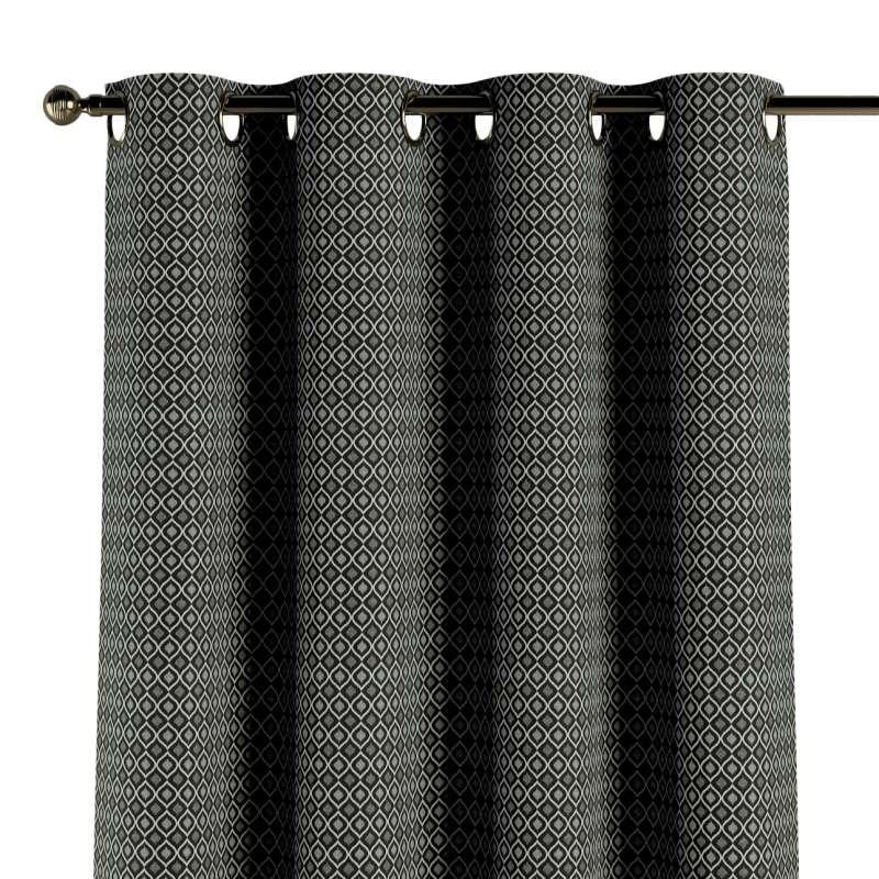 Zasłona na kółkach 1 szt. w kolekcji Black & White, tkanina: 142-86