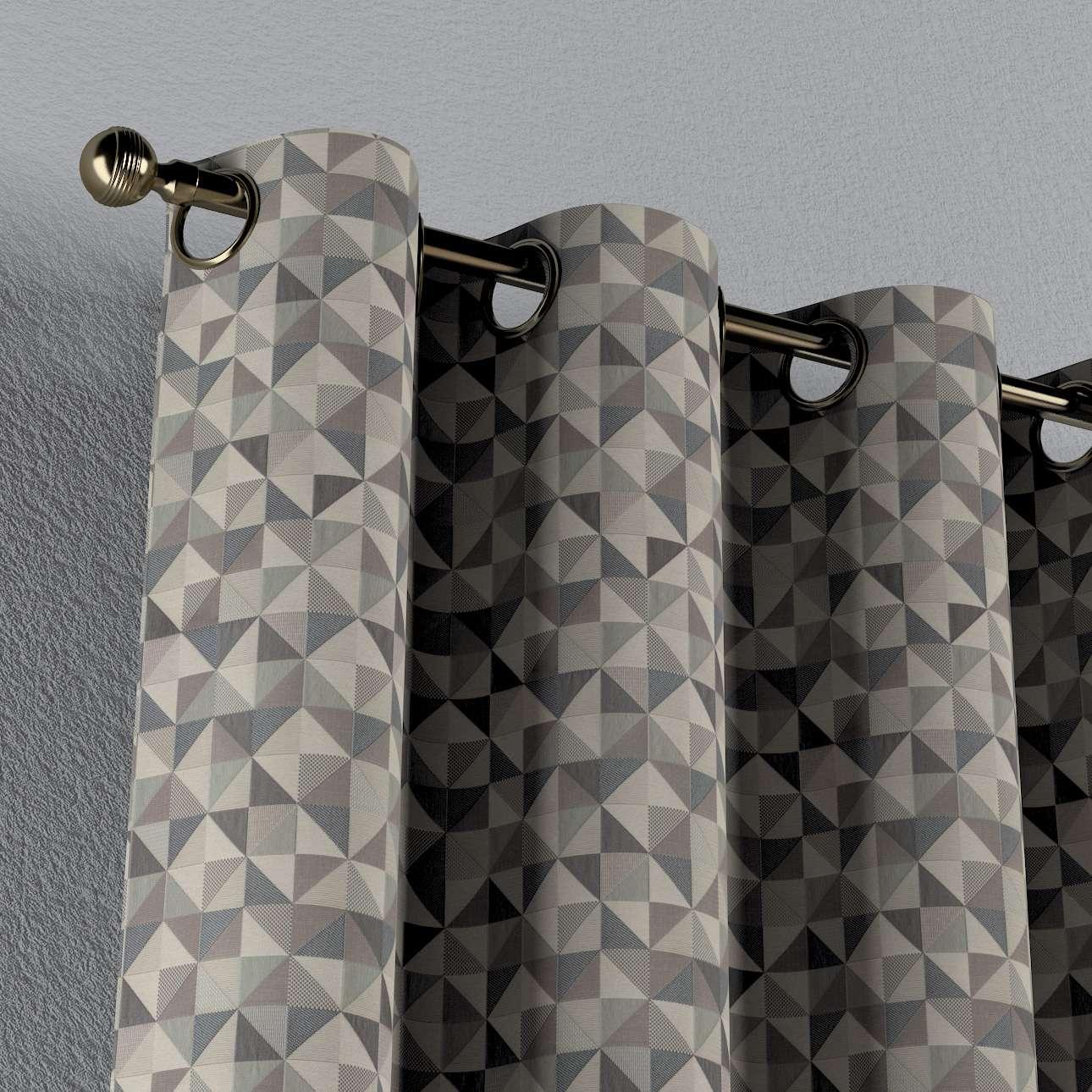 Gardin med maljer 1 stk. fra kolleksjonen Retro Glam, Stoffets bredde: 142-84