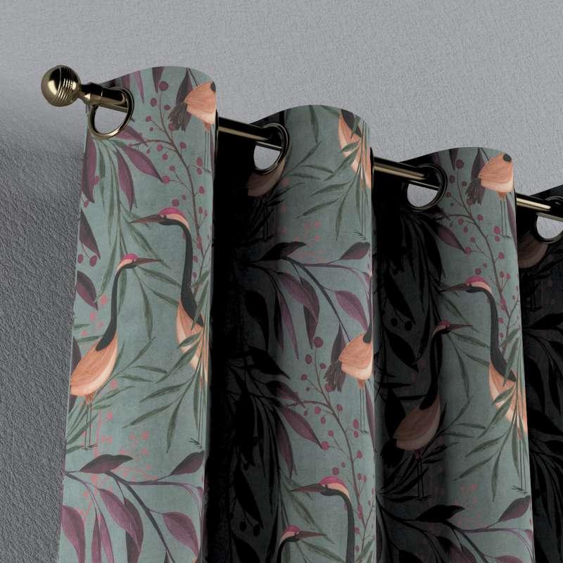 Gardin med maljer 1 stk. fra kolleksjonen Abigail, Stoffets bredde: 143-11