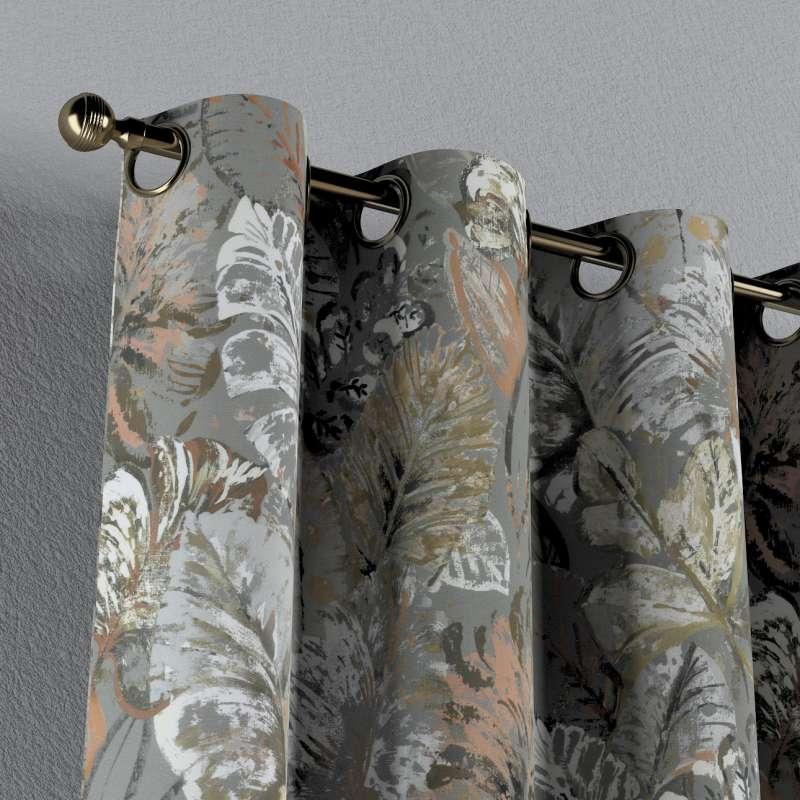 Záves s kolieskami V kolekcii Abigail, tkanina: 143-19