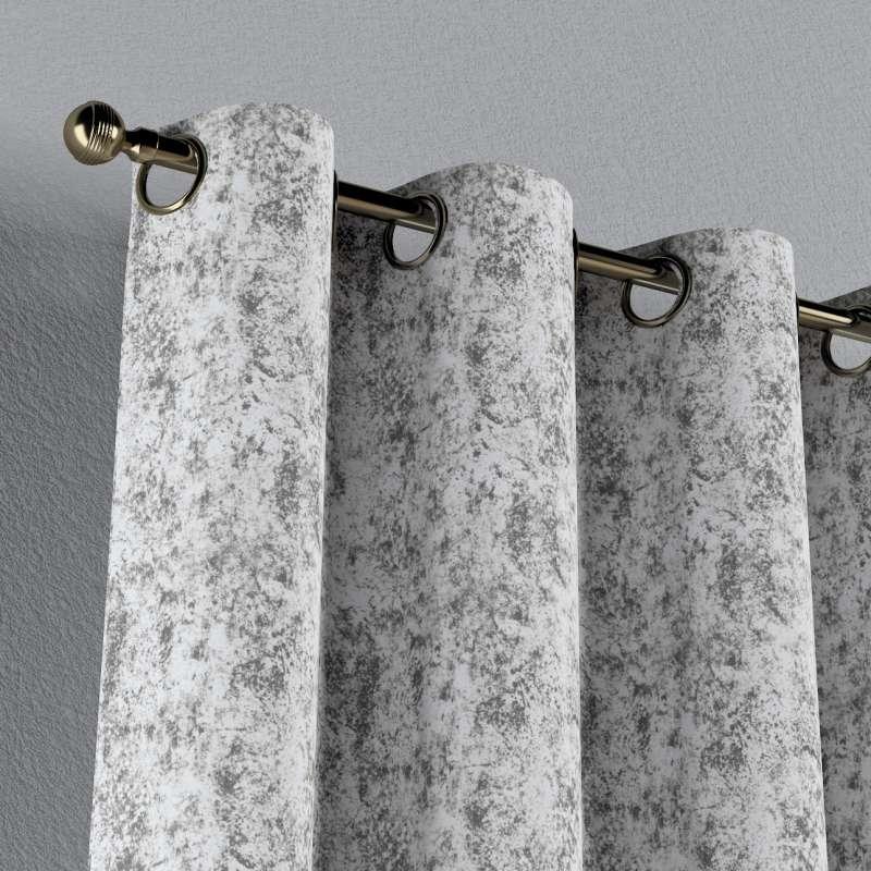 Gardin med øskner 1 stk. fra kollektionen Velvet, Stof: 704-49