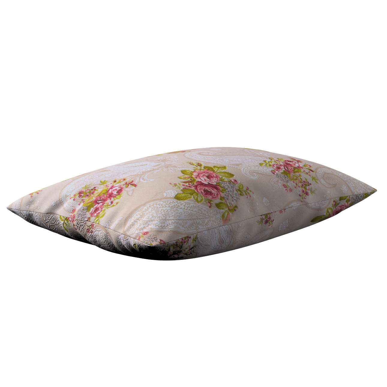 Kinga - potah na polštář jednoduchý obdélníkový v kolekci Flowers, látka: 311-15
