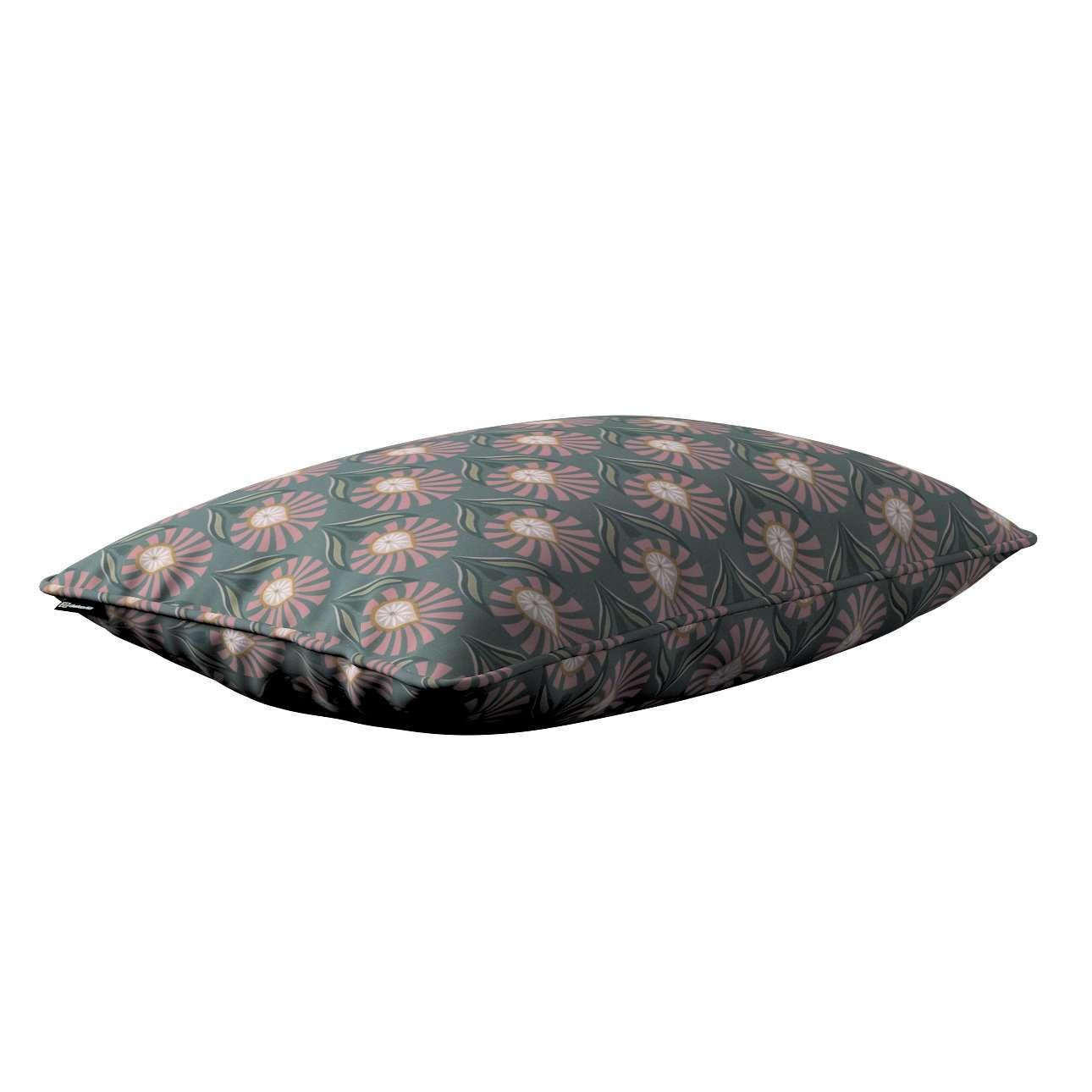 Gabi - potah na polštář šňůrka po obvodu obdélníkový v kolekci Gardenia, látka: 142-17