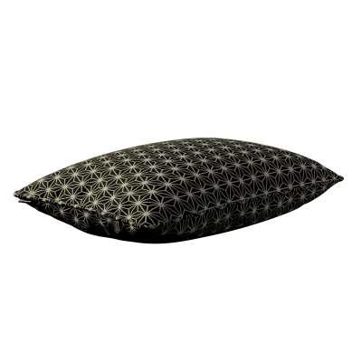 Gabi - potah na polštář šňůrka po obvodu obdélníkový v kolekci Black & White, látka: 142-56