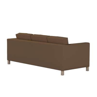 Pokrowiec na sofę Karlanda 3-osobową nierozkładaną, krótki w kolekcji Cotton Panama, tkanina: 702-02