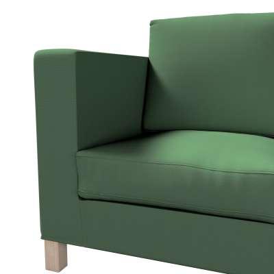 Pokrowiec na sofę Karlanda 3-osobową nierozkładaną, krótki w kolekcji Cotton Panama, tkanina: 702-06