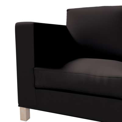 Pokrowiec na sofę Karlanda 3-osobową nierozkładaną, krótki w kolekcji Cotton Panama, tkanina: 702-09
