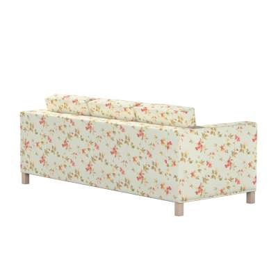 Pokrowiec na sofę Karlanda 3-osobową nierozkładaną, krótki w kolekcji Londres, tkanina: 124-65