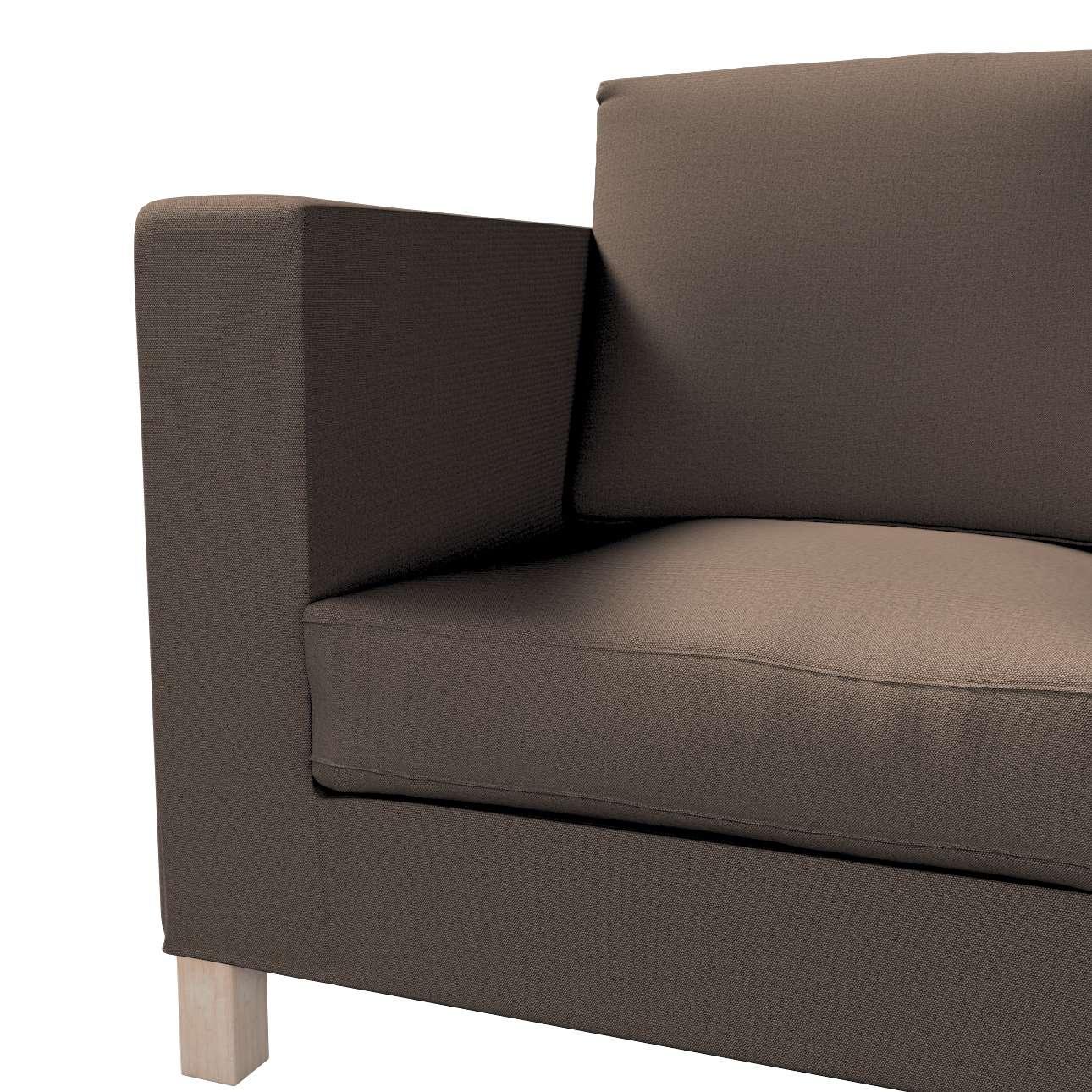 Karlanda 3-Sitzer Sofabezug nicht ausklappbar kurz von der Kollektion Etna, Stoff: 705-08