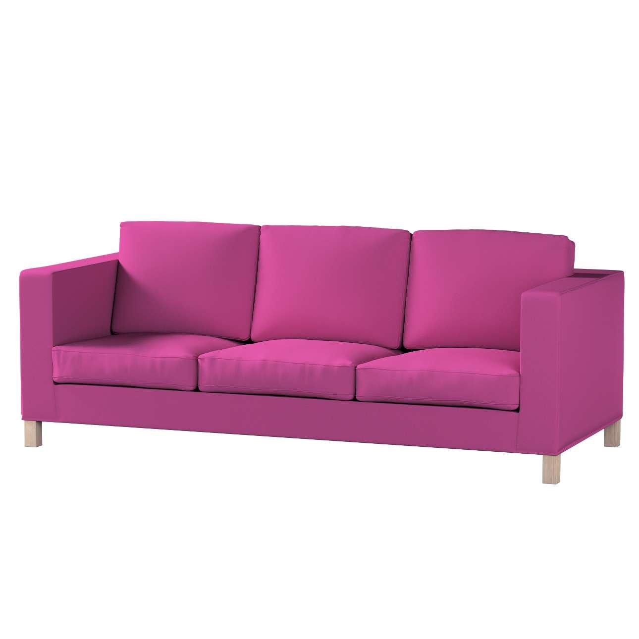 Pokrowiec na sofę Karlanda 3-osobową nierozkładaną, krótki w kolekcji Etna, tkanina: 705-23