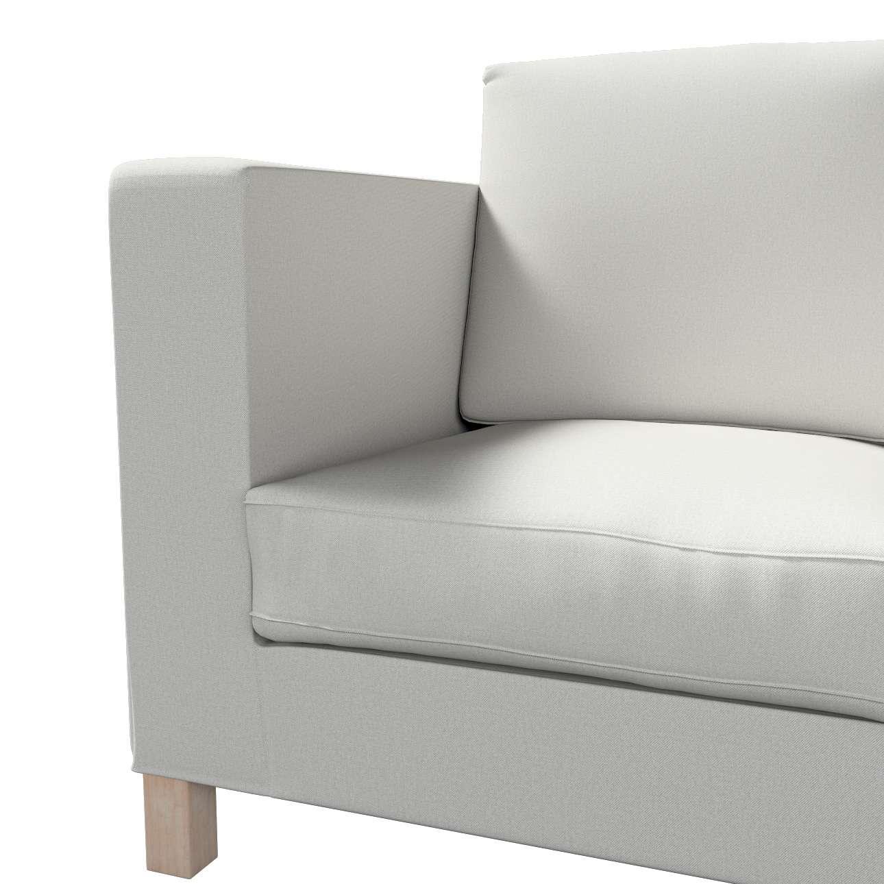 Pokrowiec na sofę Karlanda 3-osobową nierozkładaną, krótki w kolekcji Etna, tkanina: 705-90