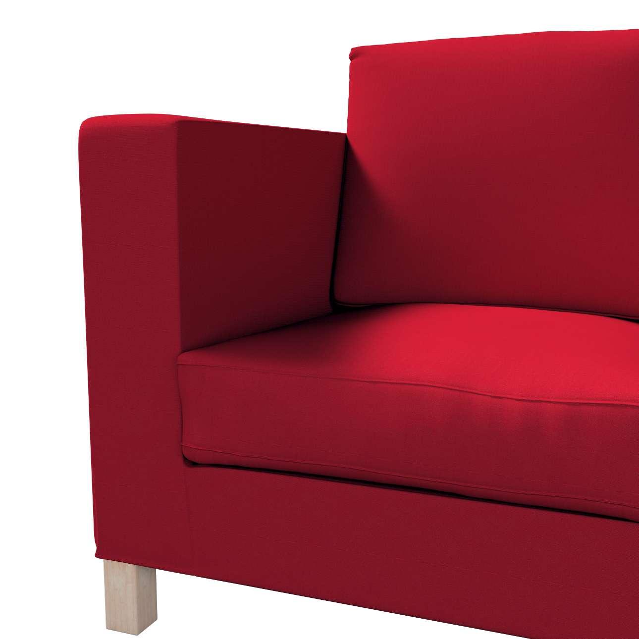 Pokrowiec na sofę Karlanda 3-osobową nierozkładaną, krótki w kolekcji Etna, tkanina: 705-60
