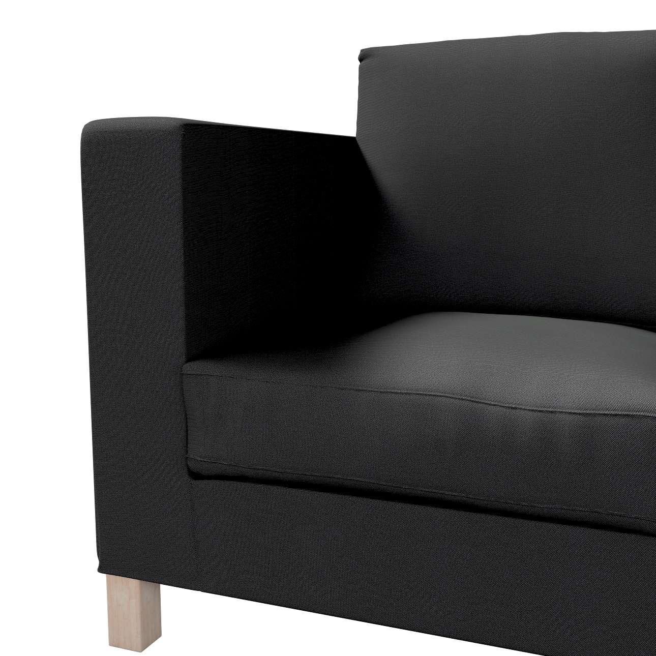 Pokrowiec na sofę Karlanda 3-osobową nierozkładaną, krótki w kolekcji Etna, tkanina: 705-00