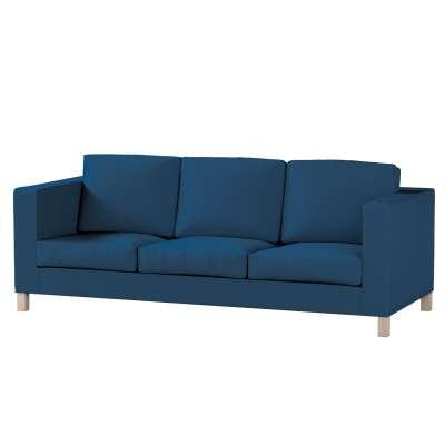 Pokrowiec na sofę Karlanda 3-osobową nierozkładaną, krótki w kolekcji Cotton Panama, tkanina: 702-30
