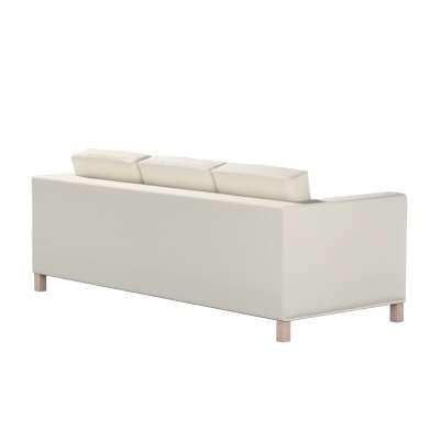 Pokrowiec na sofę Karlanda 3-osobową nierozkładaną, krótki w kolekcji Cotton Panama, tkanina: 702-31