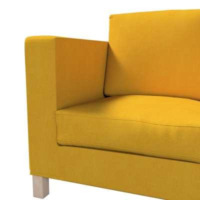 Pokrowiec na sofę Karlanda 3-osobową nierozkładaną, krótki w kolekcji Etna, tkanina: 705-04