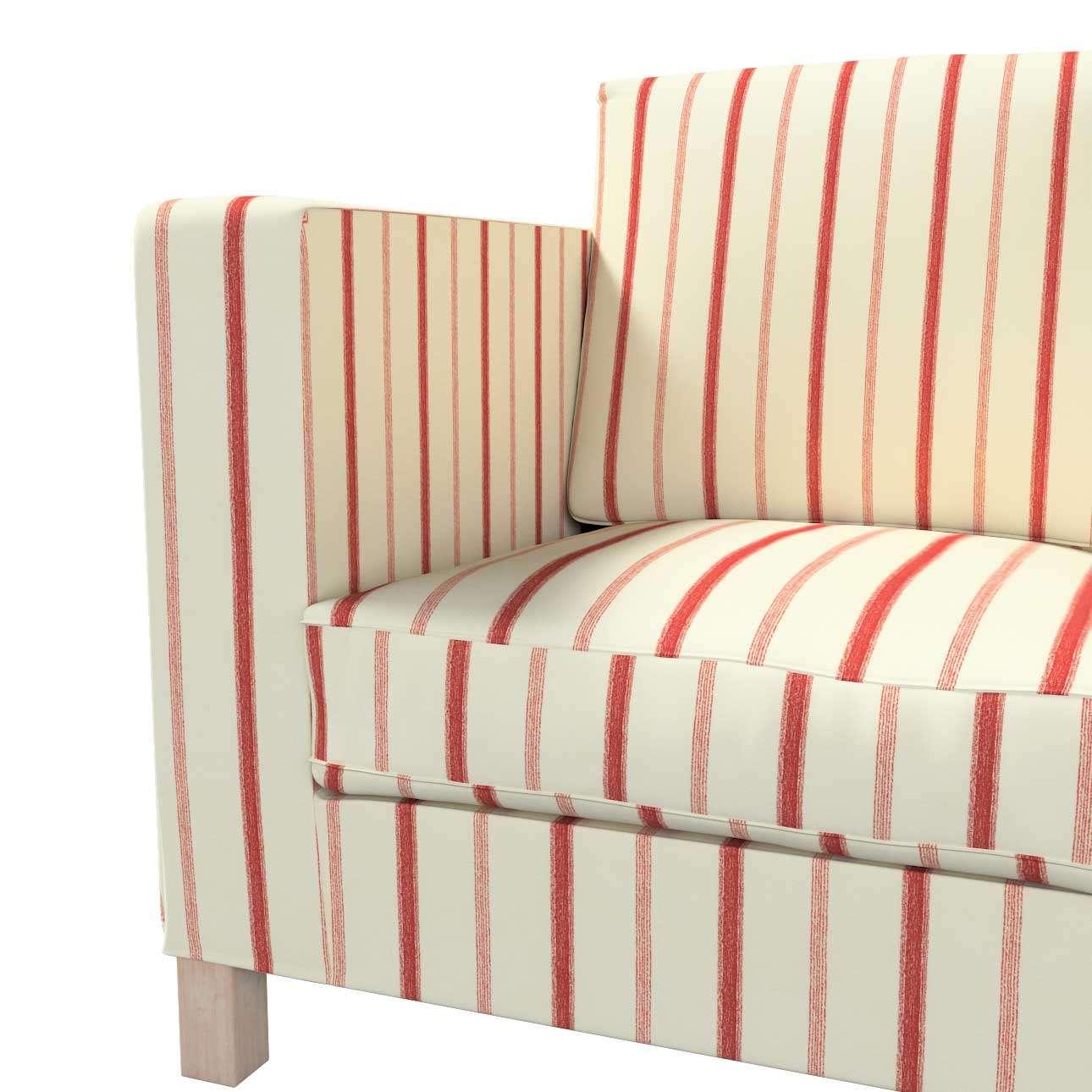 Pokrowiec na sofę Karlanda 3-osobową nierozkładaną, krótki w kolekcji Avinon, tkanina: 129-15